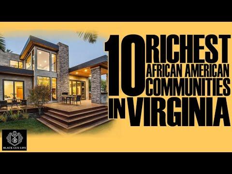 Black Excellist:  Top 10 Richest Black Communities in Virginia
