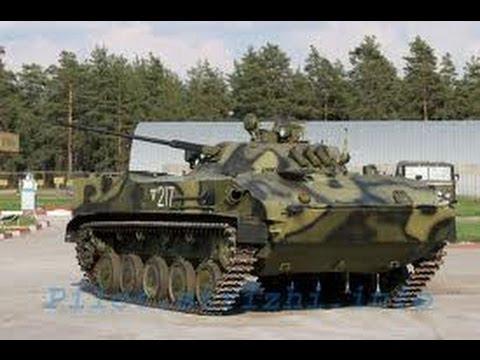 Танки мира.  Боевая машина десанта (БМД-3)