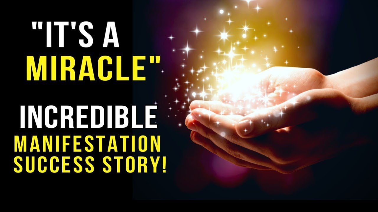 A Story That Will Change Your Life! One of the Most Inspiring Manifestation  Speeches (Success Story)