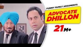 Video Punjabi Comedy 1 | Carry On Jatta - Advocate Dhillon Funny Family Arguments | Comedy Scene download MP3, 3GP, MP4, WEBM, AVI, FLV November 2017