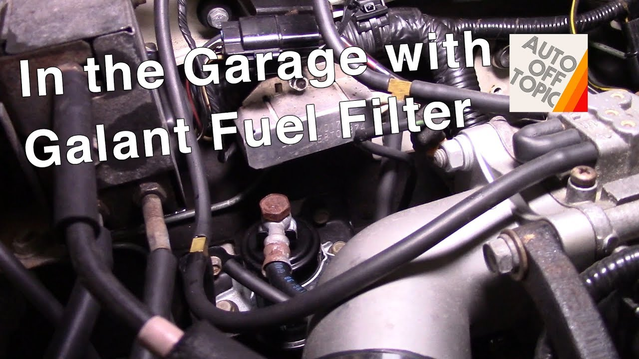 galant vr4 fuel filter how to: in the garage - youtube  youtube