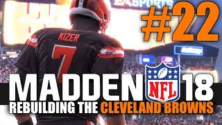 Madden 18 Browns Rebuild - Part 22 - HOME OPENER! (Browns vs Panthers) 2017 Video