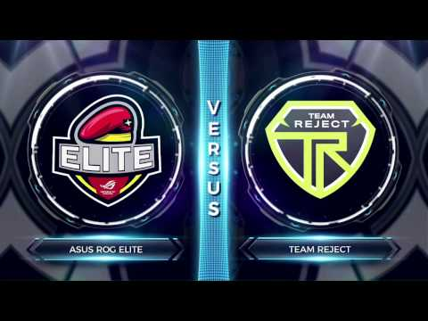 FCS S2 Round 2 - ASUS ROG Elite vs Team Reject