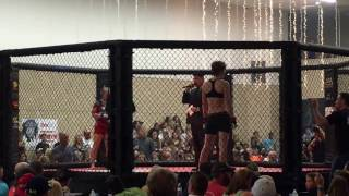 Hayley Turner vs Eve Richards Amateur MMA Debut 9/17/16