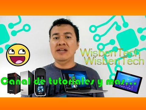 WisbenTech - Video-Tutoriales Y Más