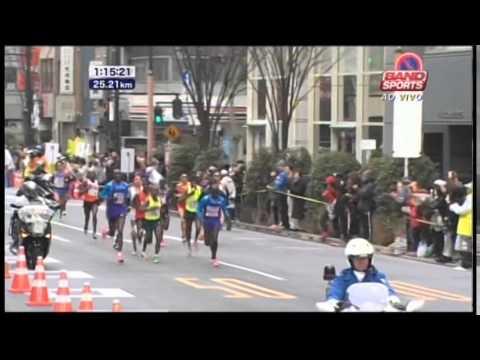 Maratona de Tóquio - masculina - 2015