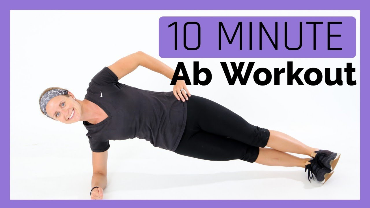 10 Minute Ab Workout- No Equipment!