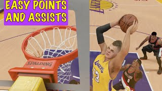 How to get Easy Points and Assists : : NBA 2K15