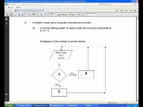 Gcse ict flow diagram past paper question youtube gcse ict flow diagram past paper question ccuart Choice Image