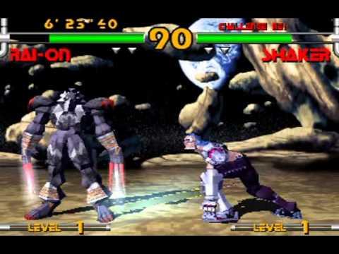 Plasma Sword: Star Gladiator 2 - Rai-On Playthrough Nightmare of Bilstein