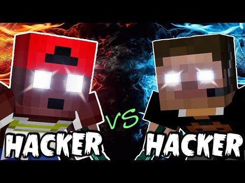 HACKER VS HACKER AL MODO DIOS EN MINECRAFT | RustyCRAFT