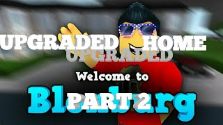 ROBLOX Bloxburg Gameplay (upgraded Home)part 2 sorry about the mic and connection lost
