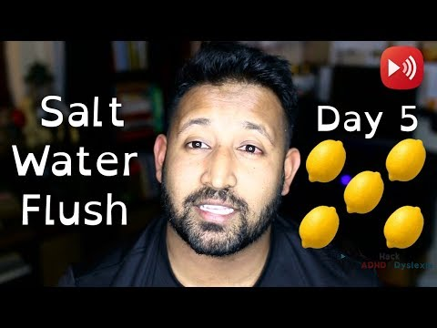 🔴 Master Cleanse - ADHD Diet - Salt Water Flush - 40 Days of Fasting - Day 5