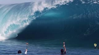 John John Florence and friends surf large Teahupoo - 2011