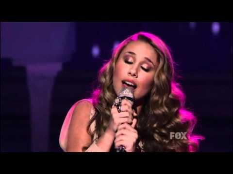 Haley Reinhart - American Idol 2011 - Top 6 Finalists perform