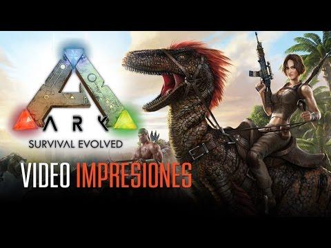 ARK SURVIVAL EVOLVED: Jugando con dinosaurios
