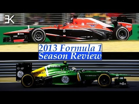 2013 Formula 1 Season Review: Marussia and Caterham