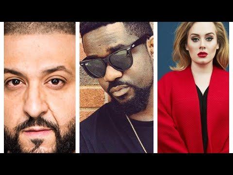 Sarkodie tops Adele & DJ Khaled in album charts.
