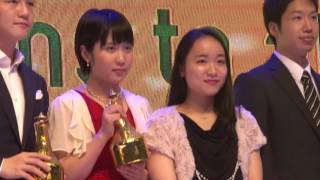 【ITTFスタ ーアワード】快挙!史上最年少優勝を果たした平野美宇