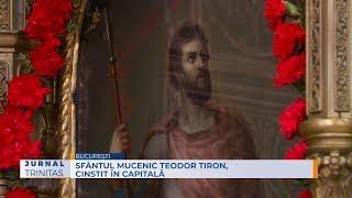 Sfântul Mucenic Teodor Tiron, cinstit în Capitală