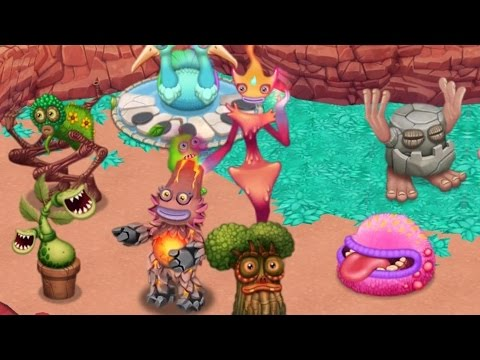 My Singing Monsters: Dawn of Fire - All Party Island Monster Song [FULL]