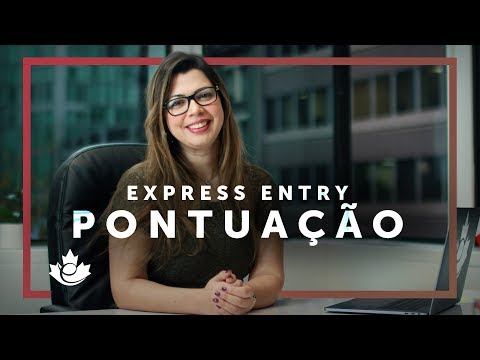 PONTUAÇÃO DO EXPRESS ENTRY