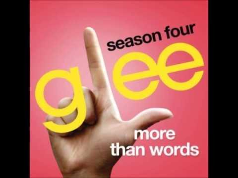 Glee  More Than Words DOWNLOAD MP3+LYRICS