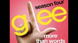 Glee - More Than Words (DOWNLOAD MP3+LYRICS)