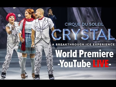 We are LIVE at the CRYSTAL WORLD PREMIERE at the Centre Bell in Montreal!