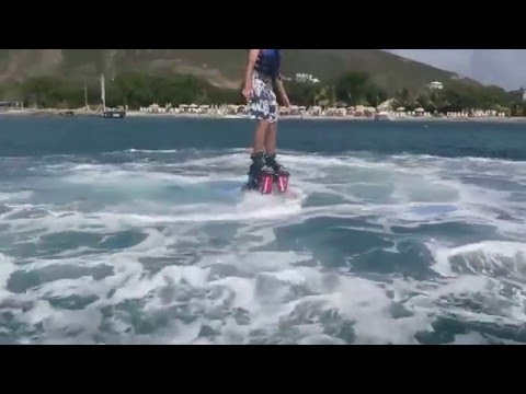 Flyboarding and Hoverboarding in St. Kitts