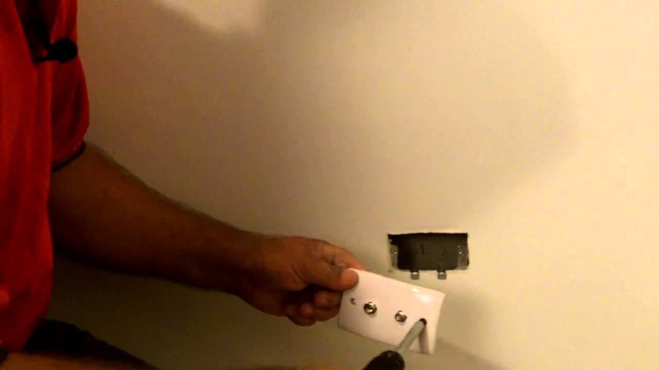 Jims Antennas How To Install A Wall Plate Tutorial Youtube Wiring Block