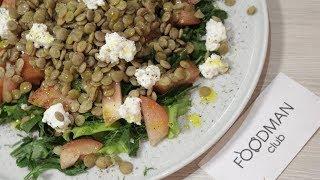 Салат из чечевицы с брынзой: рецепт от Foodman.club