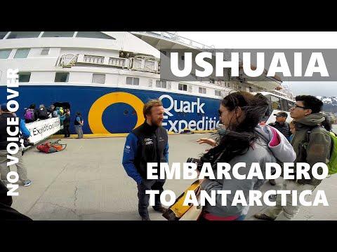 Trip to Antarctica, day 1, embarcadero @Ushuaia (Argentina)