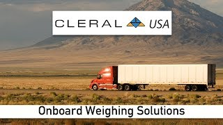 Onboard Truck Scales - Cleral USA - Onboard Truck Scales