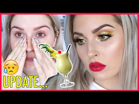 SH*T LIFE UPDATE 😭 Chit Chat GRWM 💕🍹 COCKTAIL SERIES Pina Colada