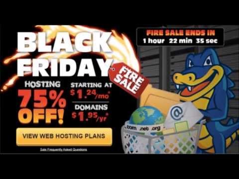 Black Friday Hosting Deal