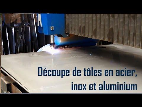 D coupe plasma hd de t les acier inox aluminium par for Decoupe inox sur mesure