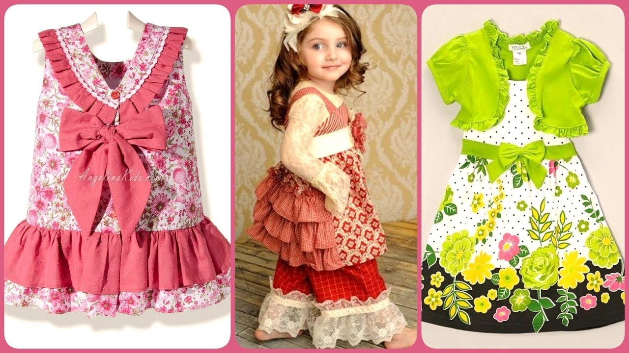 Summer Outfits Collection for Babies 2019 / Kids Dress Design Ideas
