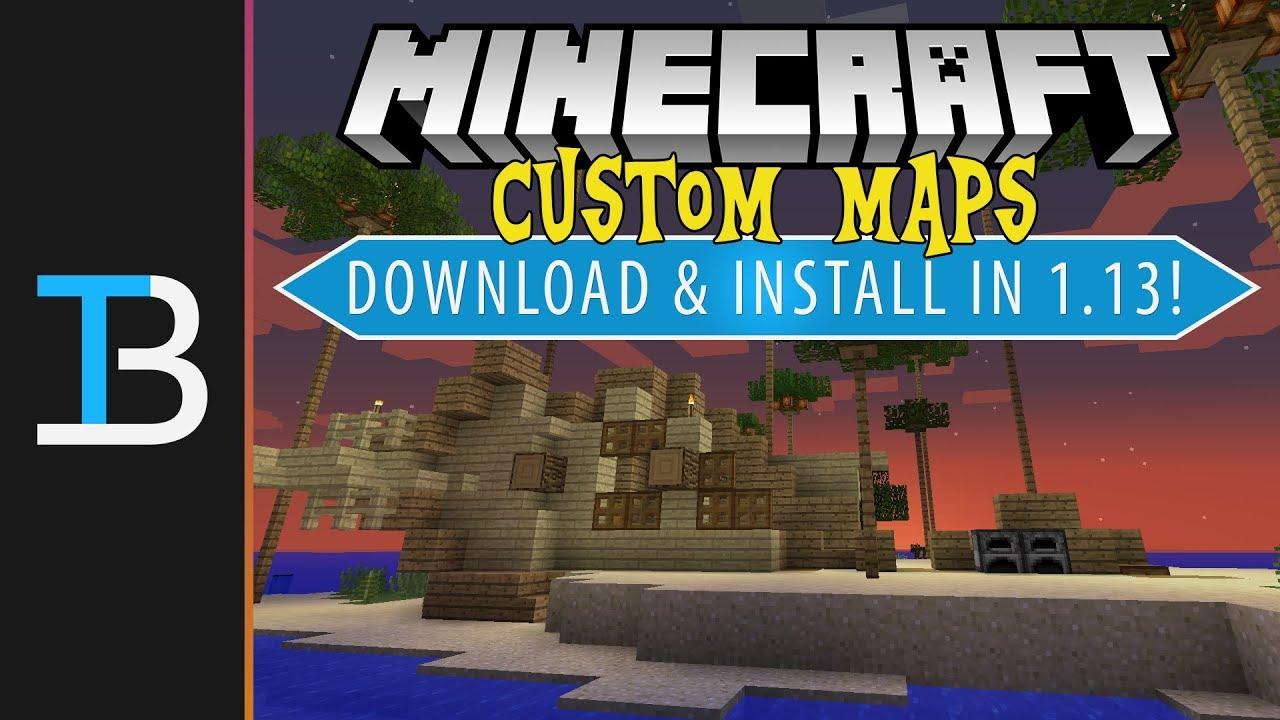 installer des map minecraft mac