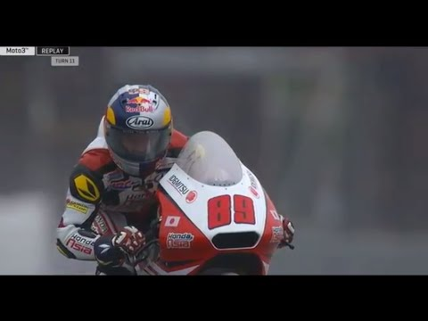 Khairul Idham Pawi Wet Track Slayer Germany Moto3 Full Race