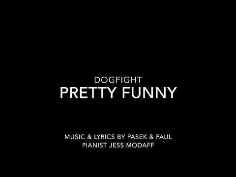 Pretty Funny from Dogfight - Piano Accompaniment