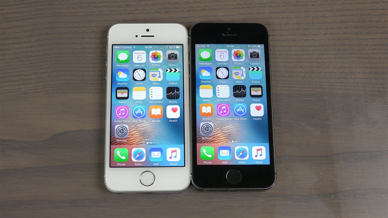 iphone 5s vs se benchmark
