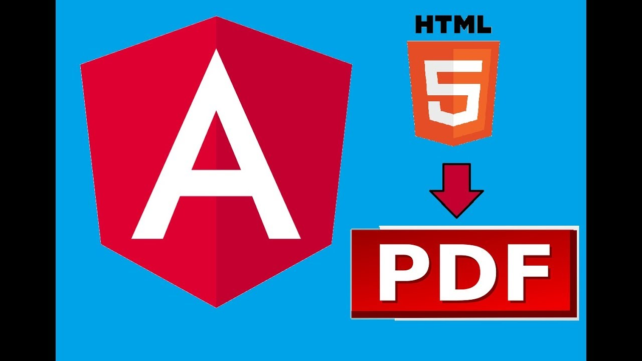 Convert HTML to PDF in Angular