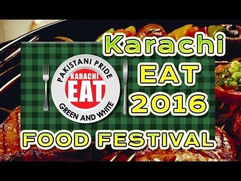 KARACHI EAT 2016 Food Festival 🍗  at Frere Hall 🍖