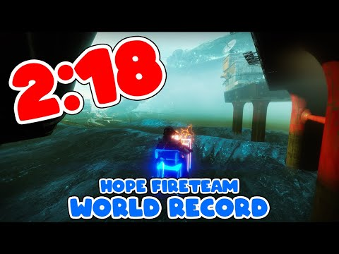"""""""Hope"""" Mission WR in 2:18"""