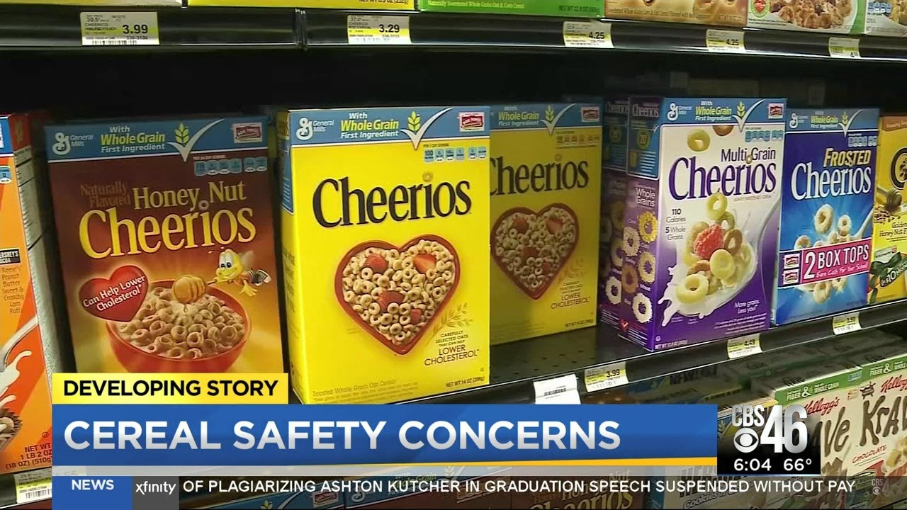 Popular Cereals May Cause Cancer