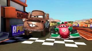 Francesco Bernoulli VS Tow Mater & McQueen 95 Disney PIXAR Cars Racing Game Play