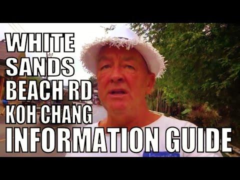 Koh Chang White Sands Beach Road Thailand