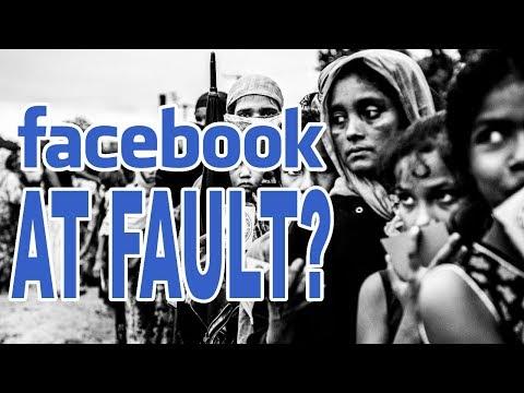 Facebook Being Blamed For Genocide