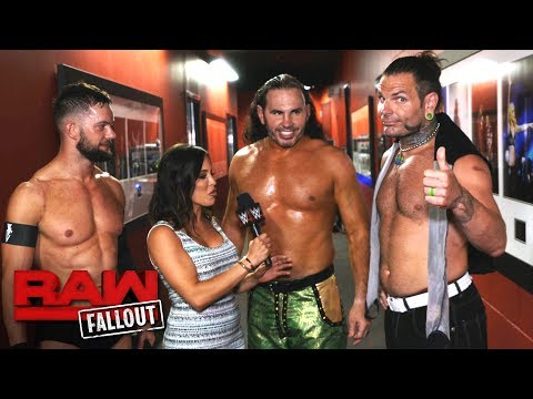 Thumbnail: Why Finn Bálor and The Hardy Boyz are such a powerful team: Raw Fallout, June 26, 2017